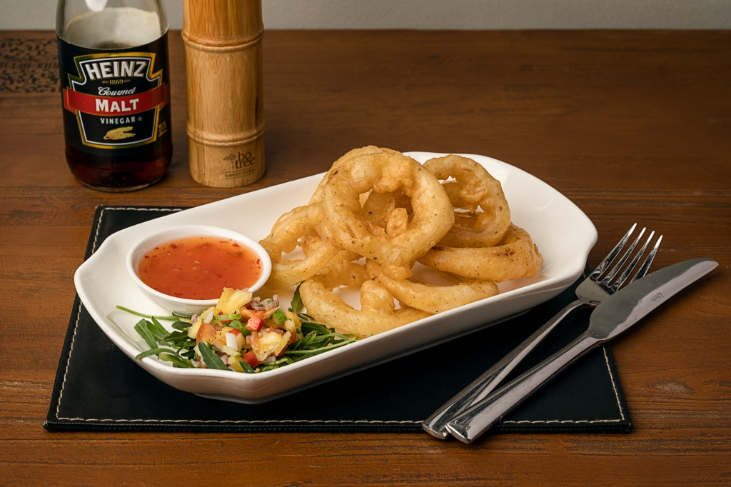 The Box Office Beer Battered Onion Rings
